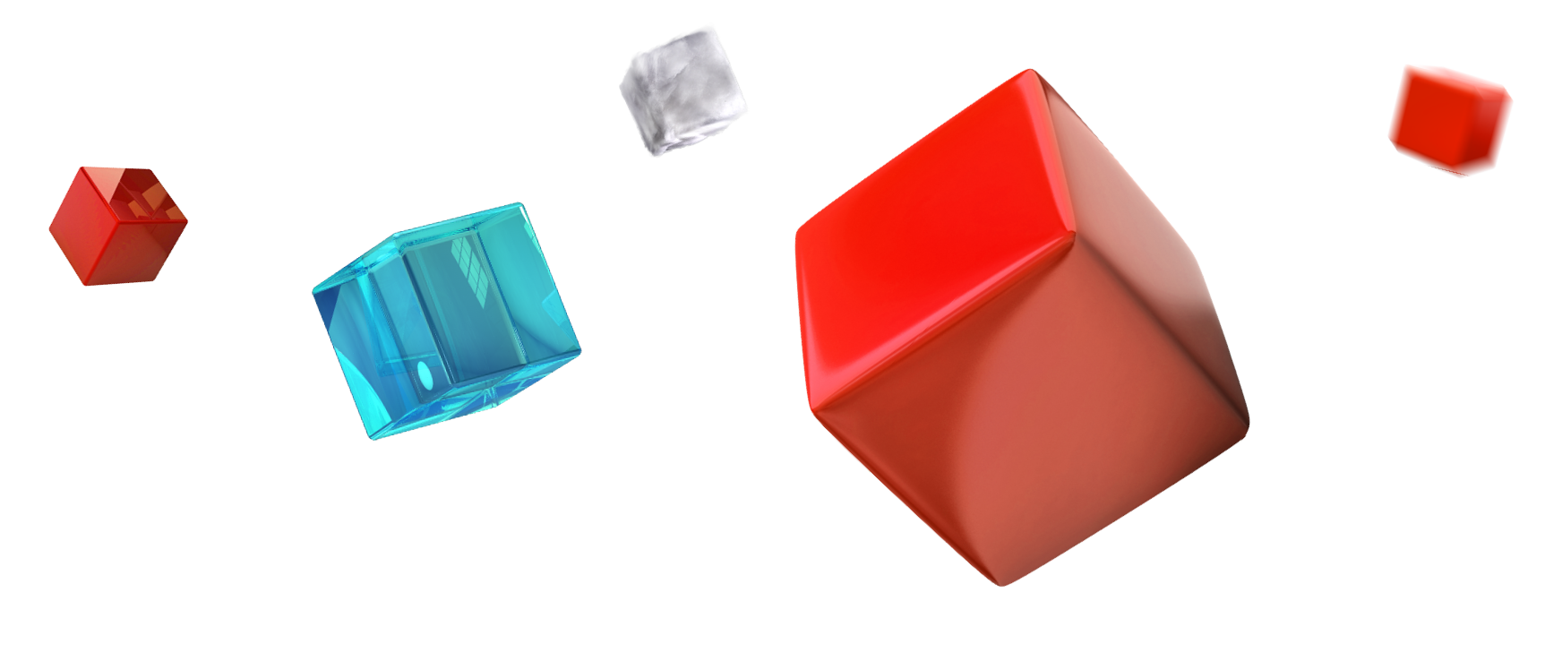 Transparent Cubes